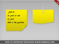 Free Post-it PSD