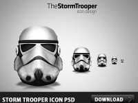 Free Storm Trooper Icon PSD