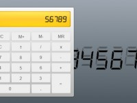 Free Calculator PSD Fully Layered