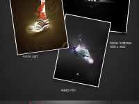 Free Adidas Wallpaper PSD