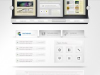 Free Professional Web Design Layout PSD
