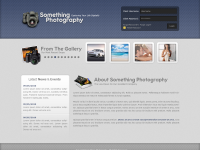 A Photography Style Web Layout