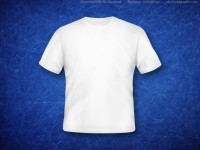 Blank White T-Shirt PSD – Free Download