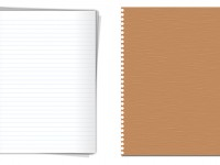 Free High quality notepaper graphics PSD