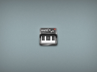 Small Piano Free PSD Icon