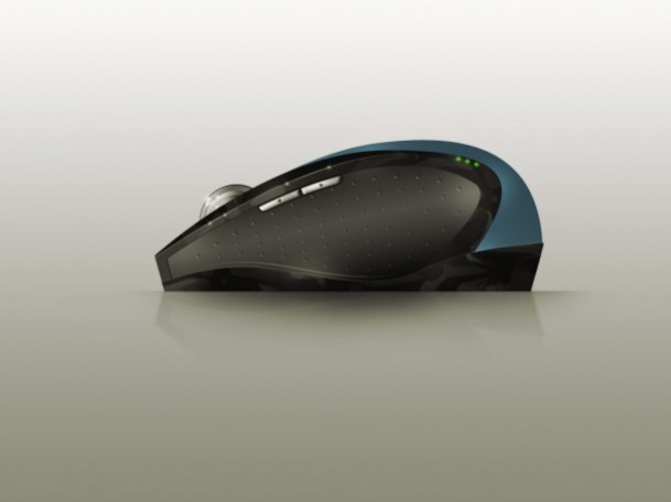 Free Realistic Computer Mouse PSD