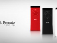 Apple Remote Free PSD