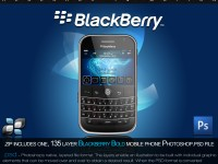 Free RIM Blackberry Bold Source PSD