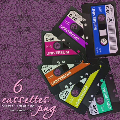 Cassettes_PNG_by_camiluchiiz