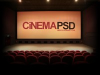 Free Cinema PSD Template