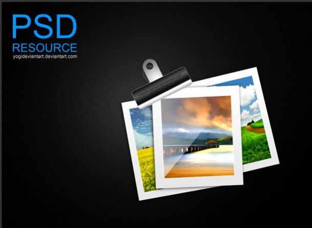 Free Photo Frames PSD