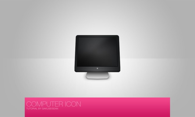 Free Computer Icon PSD
