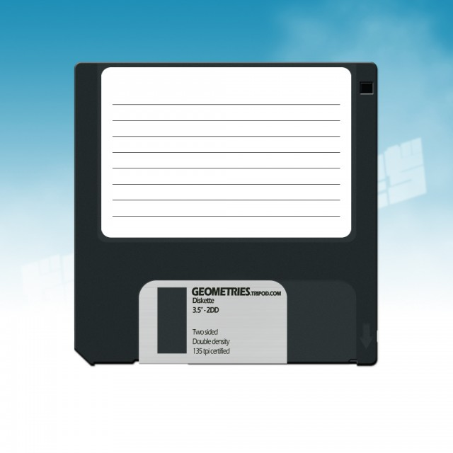Old Style Diskette Free PSD