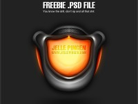 Alien Interface Free PSD