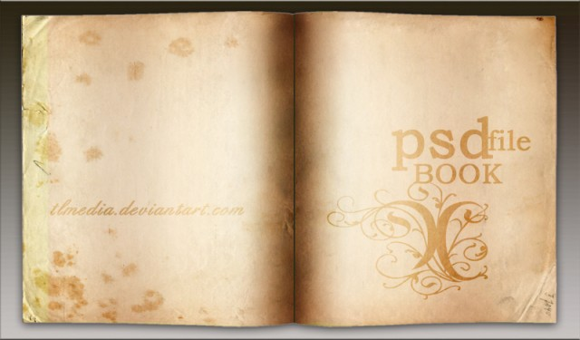 Book Layout Free PSD