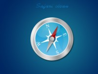 Direction Compass-Safari Clean Icon