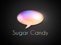 Sugar Candy Speech Blurb Icon PSD