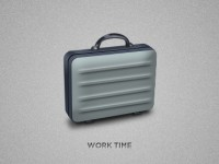 Free Briefcase PSD Template