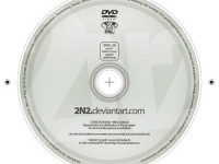 Free DVD Label PSD
