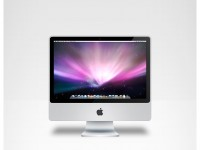 Free iMac Source PSD Template