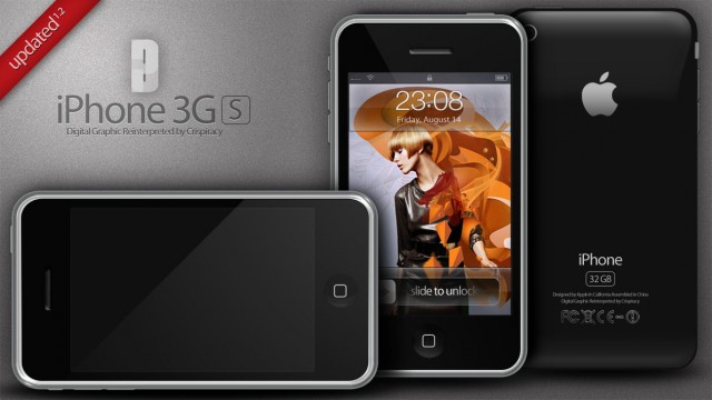 iPhone 3G Mania Free PSD Template