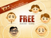 Avatar Icon Free PSD