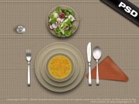 psd_lunch_by_TLMedia