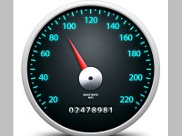 Speedometer Icon Free PSD