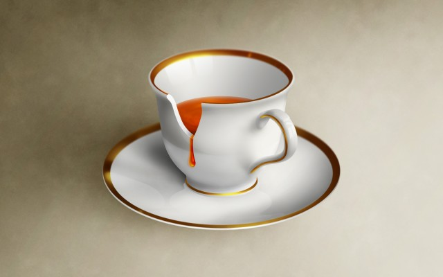 Today S Freebie Is A Broken Coffee Cup Psd With White