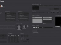 Free Web Design Wireframe Kit PSD
