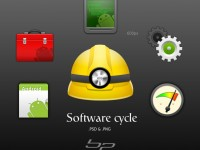Android Software Cycle Kit PSD