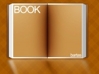 Free Open Book Template PSD