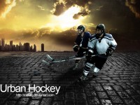 Urban Hockey Free PSD Template