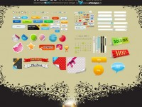 Free PSD WEB User Interface Treasure