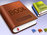 Free Book Template And Icons PSD