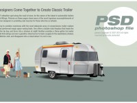 Classic trailer Free PSD