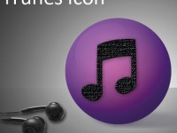iTunes Touch icon Free PSD