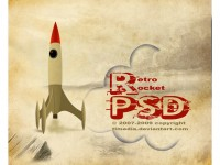 retro_rocket_PSD_by_TLMedia