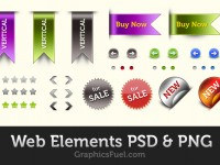 Free Website Elements PSD