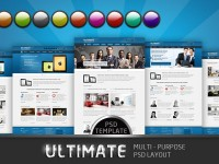 Ultimate Multi-purpose PSD Template