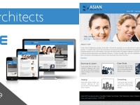 asian architects PSD
