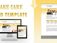 Take Care, Free Hospital Website PSD Template