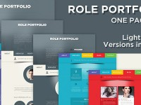 role psd template