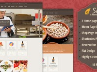 Sushi | Restaurant PSD Template