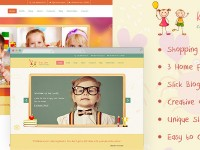Kids Zone | Children PSD